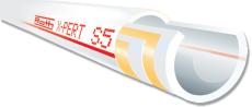 10,5 mm X-PERT S5 gulvvarmerør 200 mtr. Roth