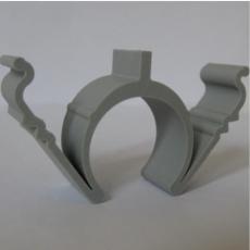 20 mm rilleclips PRO til fastgørelse af tomrør i riller