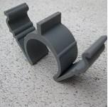 25 mm rilleclips PRO til fastgørelse af tomrør i riller