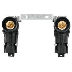 """16 mm x 1/2"""" AO M1 koblingsdåse, dobbeltdåse til alupex"""