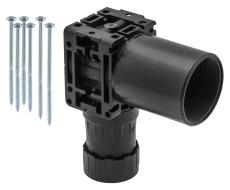 Uponor Smart Aqua PLUS koblingsdåse, enkelt Q&E M7a NKB DR 1