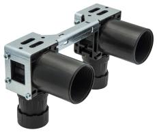 Uponor Smart Aqua PLUS koblingsdåse, dobbelt Q&E M7a PPSU 16