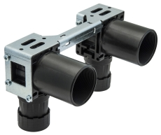 Uponor Smart Aqua PLUS koblingsdåse, dobbelt Q&E M7a NKB DR