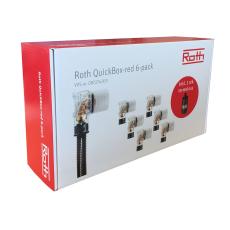 QuickBox-red 6-pack kampagnepakke incl. Roth termokrus