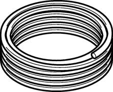16 mm Mepla Flex rør rulle á 50 meter