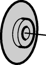 Mepla skærehjul ø 16 - 75 mm