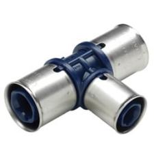 25 x 16 x 25 mm Pres tee reduceret Alupex Tigris K1 Wavin