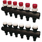 Uponor Vario PLUS GV-fordelerrørssæt Q&E LS 3X 20x2,0
