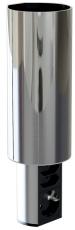 Elevator Afdækning til montering under overskab, stål look
