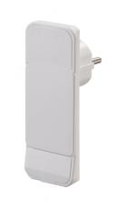 Smart Plug, flad stikprop, hvid