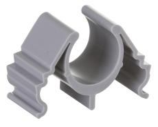 Rilleclips Pro rør 16 mm for fastgørelse af rør i riller
