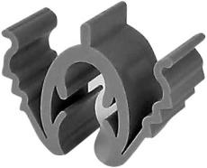 Rilleclips Pro kabel, universal for kabel i 22 mm riller