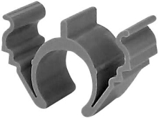 Rilleclips Pro rør 20 mm for fastgørelse af rør i riller