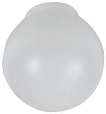 Plastkuppel Opal Ø150 mm, 84,5 mm Gevind