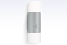 Sensorlampe L 910 LED 3000K, op/nedlys, udendørs, sølv