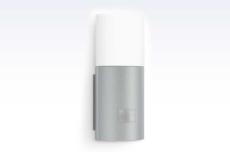 Sensorlampe L 900 LED 3000K, oplys, udendørs, sølv