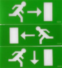 Piktogramsæt for Æsteticaled (3 stk.)