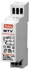 Lysdæmper med soft start/stop til din-skinne MTV500M