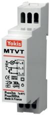Timer/lysdæmper med soft start/stop til din-skinne MTVT500M