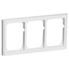 Fuga Ramme 63 Softline 3x1,5M vandret hvid