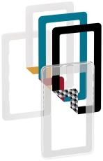 Fuga Choice designramme 1x2M Indsats Transp Inkl 6 farvevalg