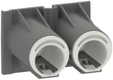 Fuga Tud 2xØ16-20 mm til Air indmurings- og indstøbningsdåse