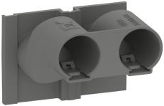 Fuga Z-tud 2 x Ø16 mm til indmurings- og indstøbningsdåse, n