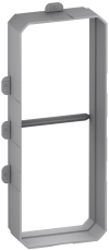 Fuga pudsudligningsring indmurings-/indstøbningsdåse 2,5M, n