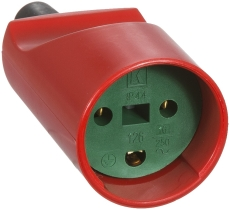 Forlængerled M/J rød/grøn