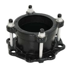 VJ 113,5-120,2mmxDN100 QuickFit flange adaptor, EPDM, A4 PN1