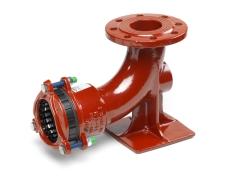 +GF+ MULIT/JOINT 84-108 mm x DN80 fodbøjning, EPDM, N16