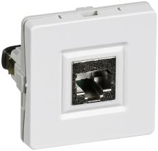IHC Net Basic Fuga Udtag T1 1xRJ45 STP Inkl. 1 Konnektor Hvi