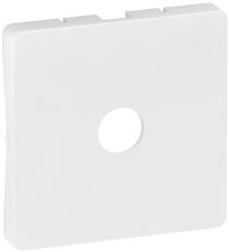 Fuga afdækning til 1xF-Connector 1M hvid