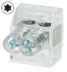 Samlemuffe 10 mm² dobbelt med Torx10 (100) Probag