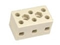 Kronemuffe porcelæn 3 polet 10 mm²