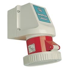 CEE Container Udvendigt Udtag 32A 4P 3H IP67 På Underlag