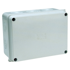 Monteringskasse 150x110x70 mm grå
