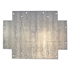 Montageplade 180x118x1,5 mm til kasse 009A