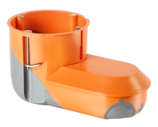 F-Tronic Forfradåse Ø68 med plads t/elektronik, orange, vind