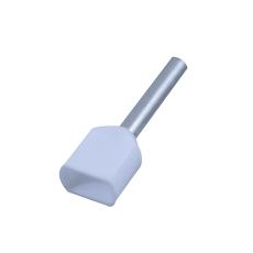 Tylle Isolerede dobbelt 2x0,75 mm², hvid, Hi 2x0,75/8 (100)
