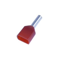 Tylle Isolerede dobbelt 2x1,5 mm², rød, Hi 2x1,5/8 (100) (W)