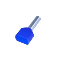 Tylle Isolerede dobbelt 2x2,5 mm², blå, Hi 2x2,5/10 (100) (W