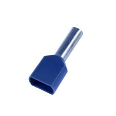 Tylle Isolerede dobbelt 2x4 mm², grå, Hi 2x4/12 (100) (W)