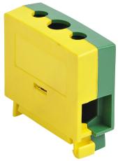 Katko Klemme Cu KC1x16PE 1,5-16 mm², skrue PZ2, Gul/Grøn