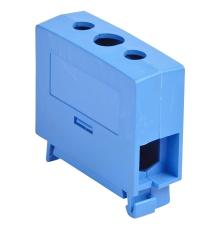 Katko Klemme Cu KC1x35N 2,5-35 mm², skrue PZ2, Blå