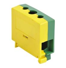 Katko Klemme Cu KC1x35PE 2,5-35 mm², skrue PZ2, Gul/Grøn