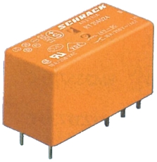 Printrelæ 12A 1 polet 230 V AC RT114730