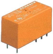 Printrelæ 12A 1 polet 24V AC RT114524