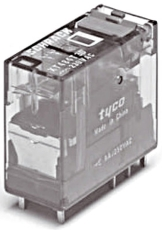 Interface relæ 8A 2 polet 230V AC LED XT484T30