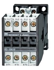 KONTAKTOR K3 18A 7,5KW 3P+1SL 400V